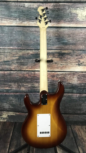 Sterling by Music Man Electric Guitar Sterling by Music Man Silhoutte HSS Electric Guitar- Sunburst