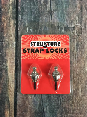 Strukture strap locks Strukture Chrome Strap Locks