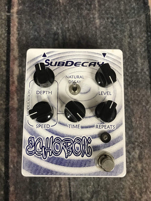 Subdecay pedal Subdecay Echo Box Effect Pedal
