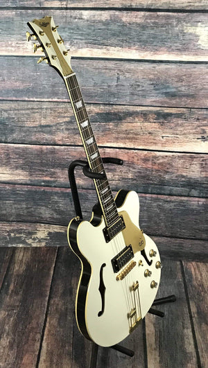 Sublime Guitars Electric Guitar Used Sublime Guitar Chieftan Deluxe Semi Hollow Electric Guitar with Gig Bag