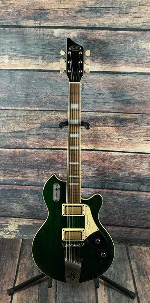 Supro Electric Guitar Supro 1926 Silverwood Electric Guitar- British Racing Green