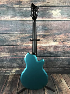 Supro Electric Guitar Supro Left Handed Westbury Elecric Guitar- Turquoise Metallic