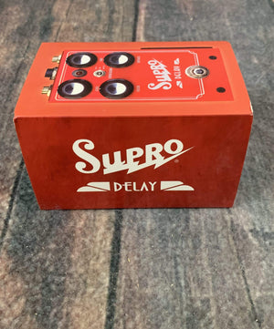 Supro pedal Supro Analog Delay Pedal