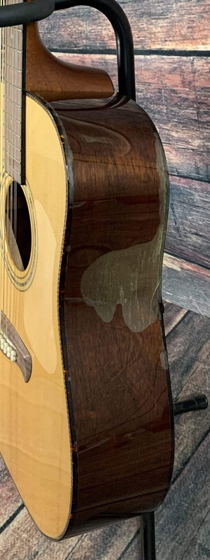 Tacoma Acoustic Guitar Used Tacoma DM1812 12 String Acoustic Guitar with Tacoma Hardshell Case