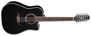 Takamine Acoustic Electric Guitar Takamine EF381SC Legacy Series 12-String Acoustic Electric Guitar
