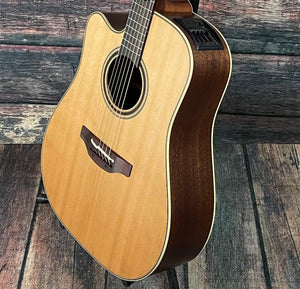 Takamine Acoustic Electric Guitar Takamine Left Handed P3DC Acoustic-Electric Guitar