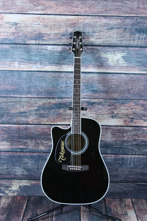 Takamine Left Handed EF341SC-LH Acoustic Electric Guitar - Adirondack Guitar