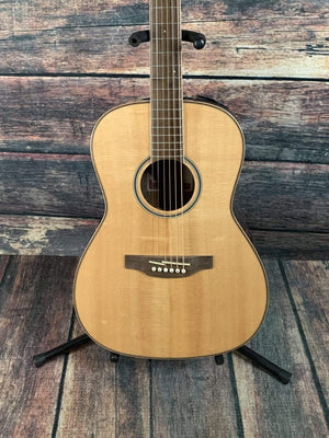 Takamine Acoustic Guitar Takamine Left Handed GY93ELH Parlor-Style Acoustic Electric Guitar