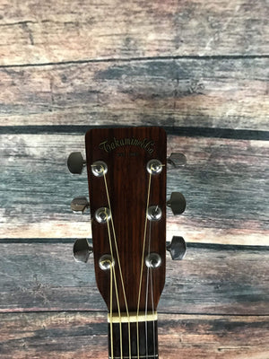 Takamine Acoustic Guitar Used Takamine 1974 Law Suit Era F-360S Acoustic Guitar with Case