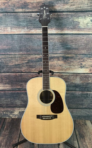 Takamine Acoustic Guitar Used Takamine EF360GF Glenn Frey Acoustic Electric Guitar with Takamine Case