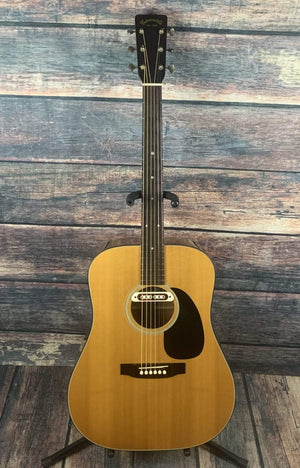Takamine Acoustic Guitar Used Takamine F-340 Acoustic Electric Guitar with Case