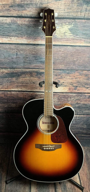Takamine Acoustic Guitar Used Takamine GJ72CE BSB G70 Series Jumbo Cutaway Acoustic/Electric Guitar with Case