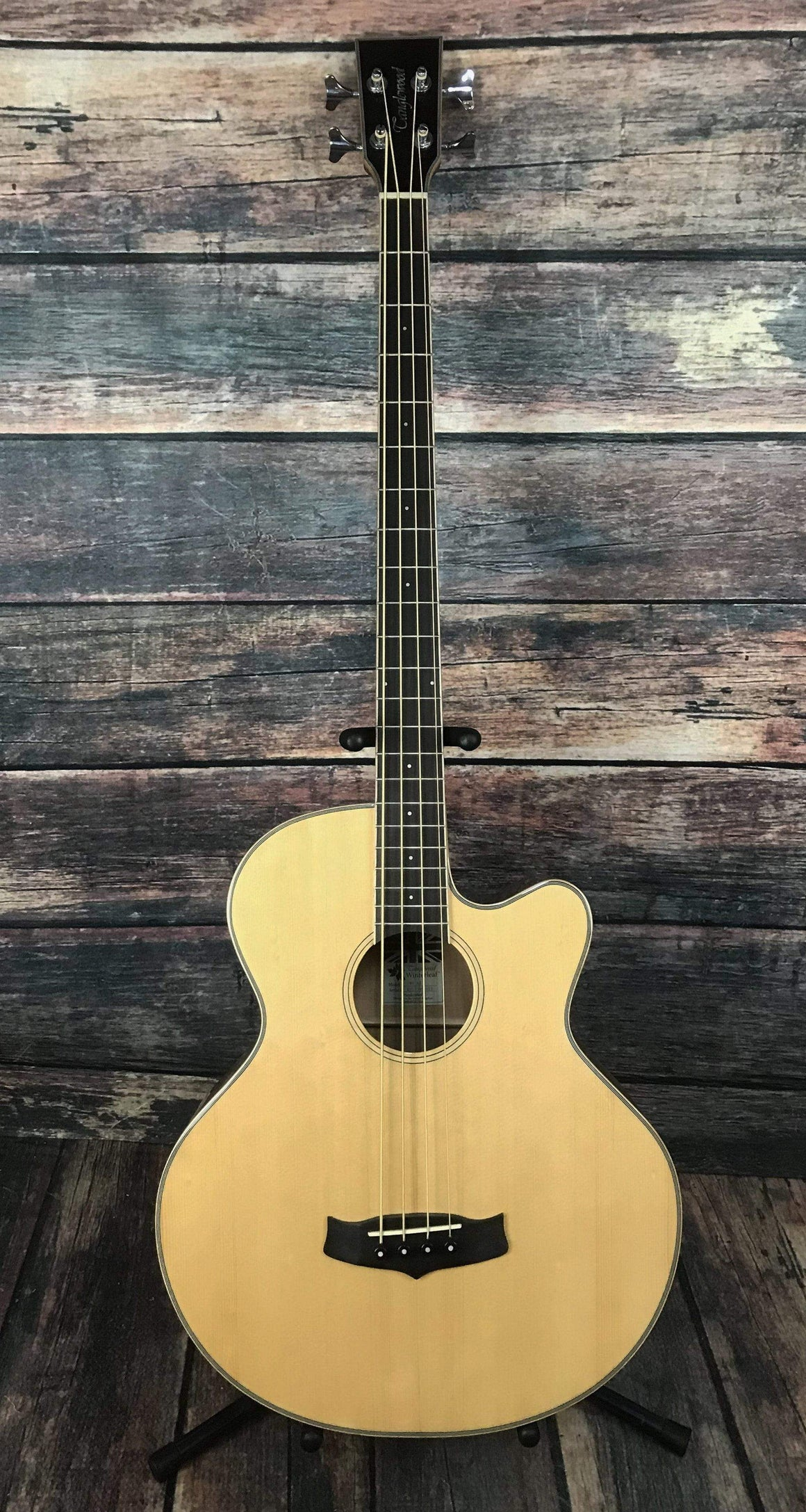 Tanglewood Acoustic Bass Tanglewood WinterLeaf Series TW8AB 4 String Acoustic Electric Bass