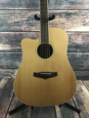 Tanglewood Acoustic Guitar Tanglewood Left Handed WinterLeaf Series TW10 Acoustic Electric Guitar