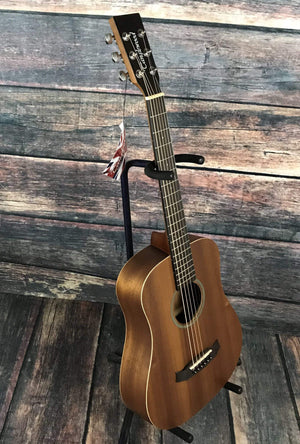 Tanglewood Acoustic Guitar Tanglewood TW2 T Winterleaf Series Travel Size Acoustic Guitar with Gig Bag