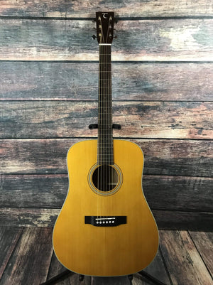 Tanglewood Acoustic Guitar Used Tanglewood TW40 D AN E Sundance Historic Series Acoustic Electric Guitar with Hard Shell Case