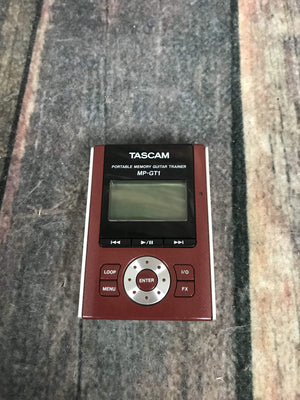 TASCAM pedal Used TASCAM MP-GT1 Guitar Trainer - MP3, Looper, Slow Down, Pitch Shift, Onboard FX, Mixer