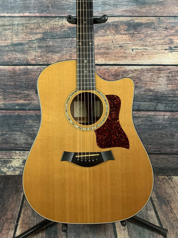used taylor 1998 710ce acoustic electric guitar with taylor case. Black Bedroom Furniture Sets. Home Design Ideas