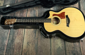 Taylor Acoustic Guitar Used Taylor 2012 314CE Acoustic Electric Guitar with Hard Shell Case