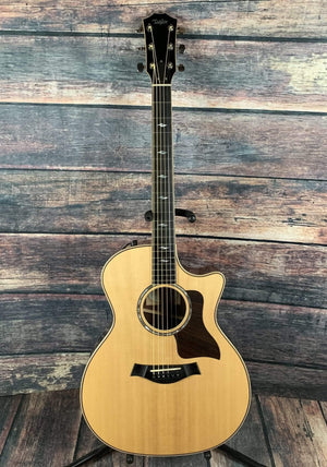 Taylor Acoustic Guitar Used Taylor 814CE Acoustic Electric Guitar with Hard Shell Case