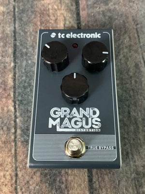 TC Electronics pedal Copy of Used TC Electronic Grand Magus Distortion Pedal with Box