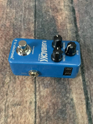 TC Electronics pedal Used TC Electronic Flashback Mini Delay Pedal
