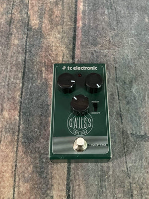 TC Electronics pedal Used TC Electronic Gauss Tape Echo Delay Pedal
