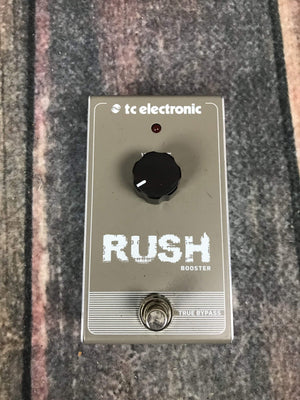 TC Electronics pedal Used TC Electronics Rush Boost Pedal