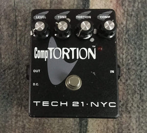 Tech 21 Pedal Used Tech 21 NYC Comptortion pedal