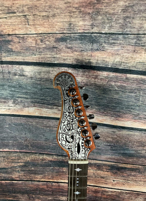Teye Electric Guitar Teye Gypsy Queen 4 Single Coil Electric Guitar
