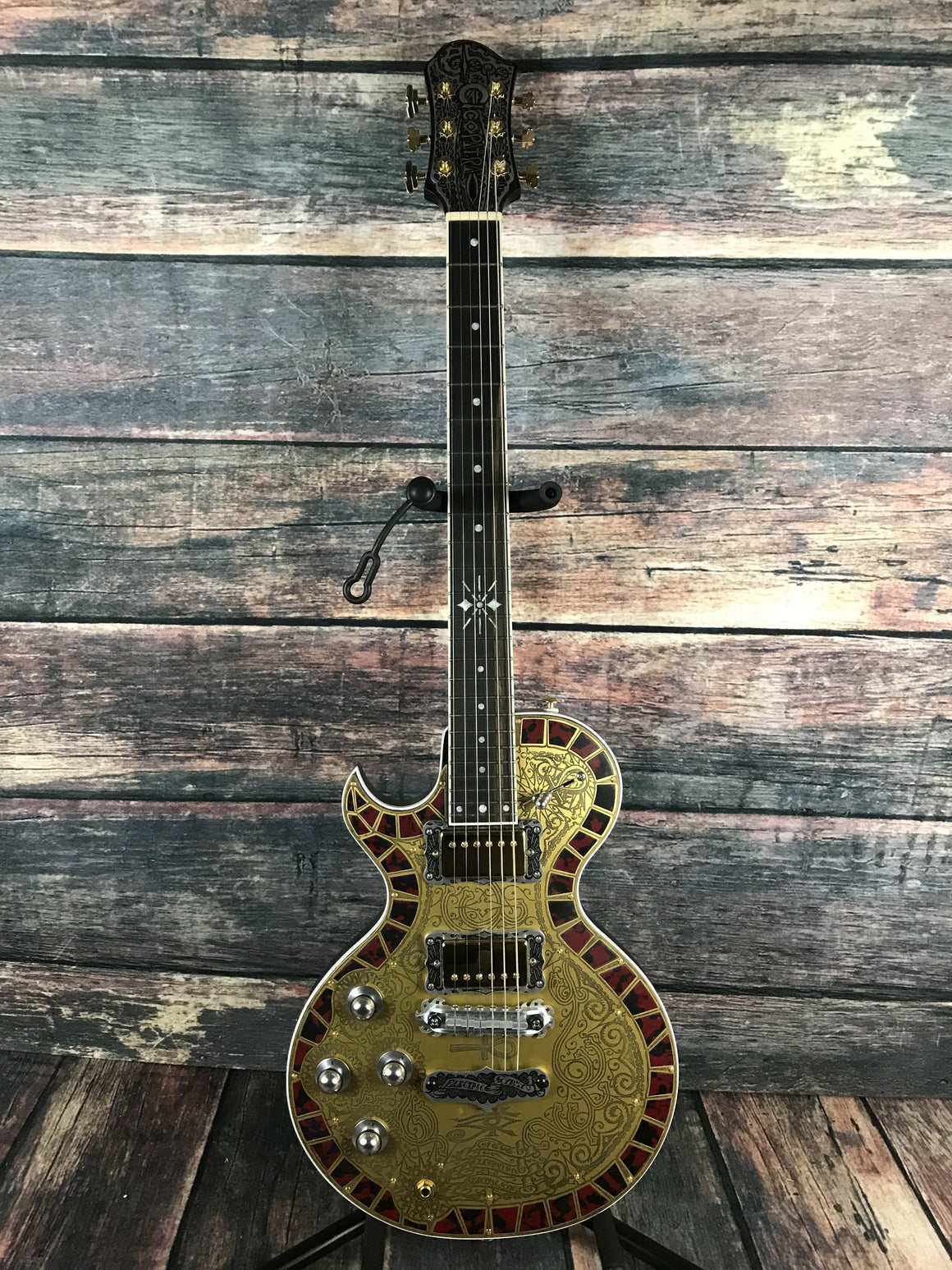 Teye Electric Guitar Teye Left Handed Electric Gypsy Cleopatra Electric Guitar