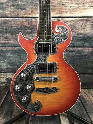Teye Electric Guitar Teye Left Handed Electric Gypsy Fox Electric Guitar- Cherry Burst