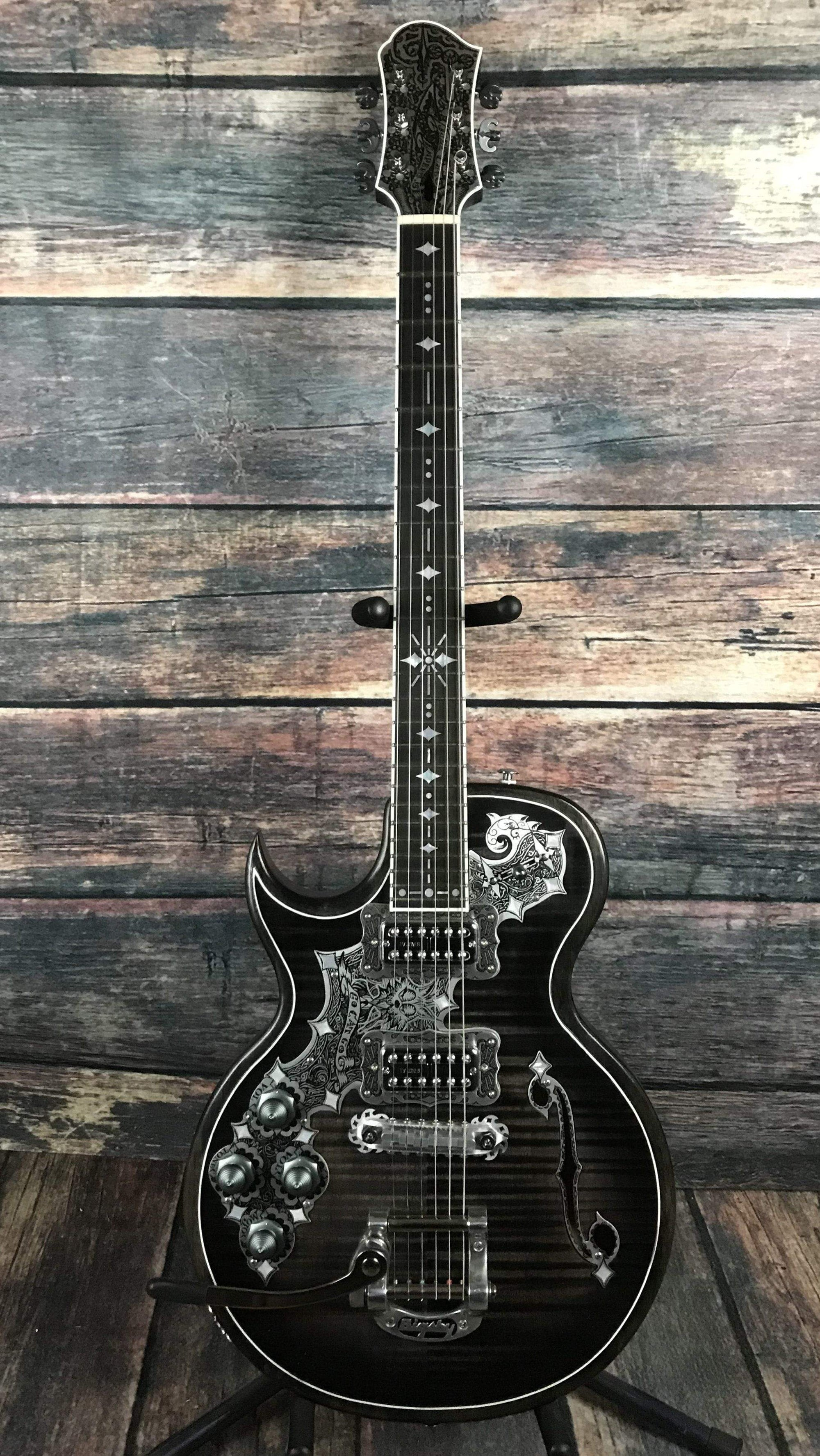 Teye Electric Guitar Teye Left Handed Jazz Cat Electric Guitar