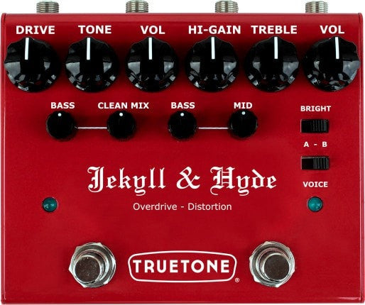 True Tone pedal True Tone V3 Jekyll & Hyde Overdrive and Distortion Pedal