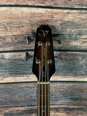 Used Vantage X-99 4 String Electric Bass with Gig Bag- Sunburst