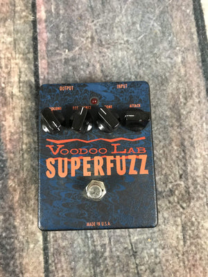 Voodoo Lab pedal Used Voodoo Lab SuperFuzz Fuzz Pedal
