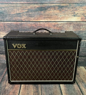 "Vox Amp Used VOX AC15C1 AC15 Custom 15 watt 1x12"" Tube Combo with Celestion Greenback Speaker"