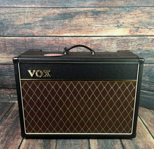 "Vox Amp Used VOX AC15C1 AC15 Custom 15 watt 1x12"" Tube Combo with Celestion Greenback Speaker and Footswitch"