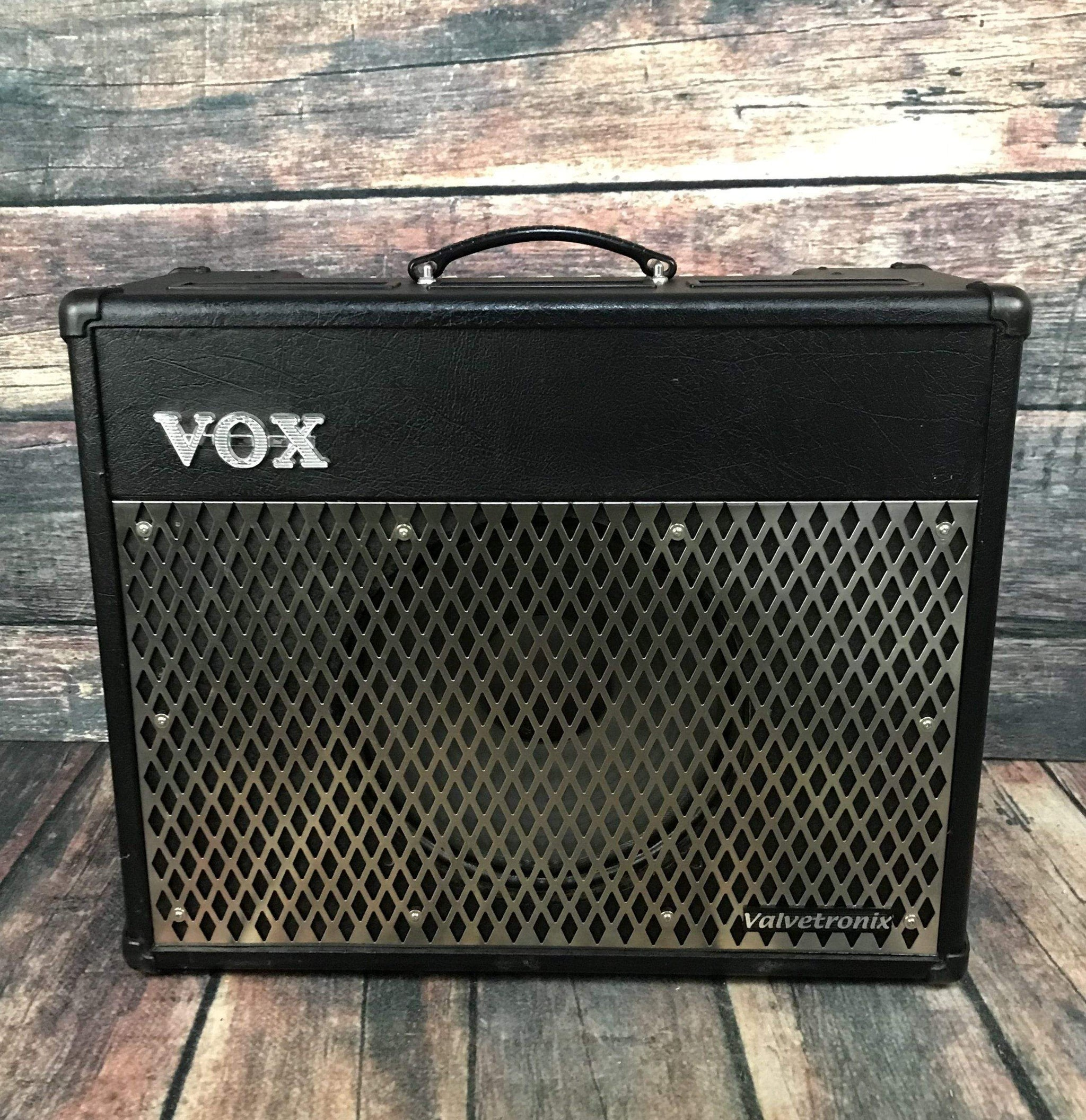 Used Vox Vt50 1x12 50 Watt Guitar Modeling Amp Adirondack Watts Audio Amplifier