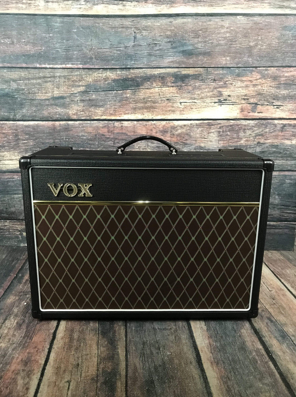 "Vox Amp VOX AC15C1 AC15 Custom 15 watt 1x12"" Tube Combo with Celestion Greenback Speaker"