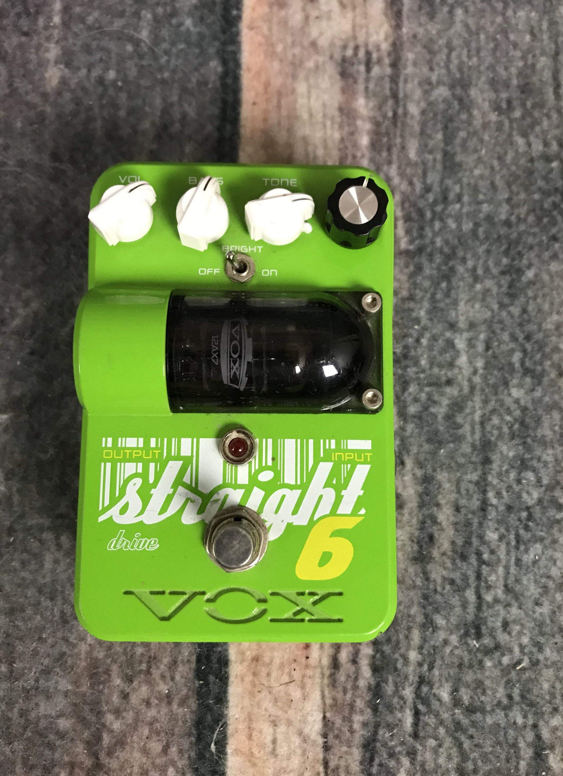 Vox pedal Used Vox Straight 6 Overdrive Pedal