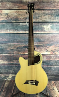 warwick Acoustic Bass Warwick Left Handed Alien 6 Acoustic Electric Bass