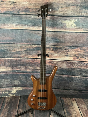 warwick Electric Bass Used Warwick Left Handed Corvette Standard 4 String Electric Bass with Case
