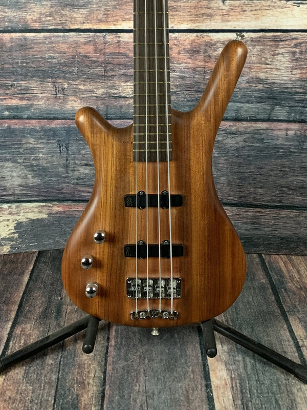used warwick left handed corvette standard 4 string electric bass with. Black Bedroom Furniture Sets. Home Design Ideas