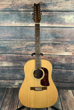 washburn Acoustic Guitar Used Washburn 80's D-25S 12 String Acoustic Guitar with Case