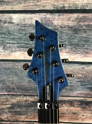 washburn Electric Guitar Washburn Left Handed PXM10FRQTBLMLH Parallaxe Electric Guitar-Trans Blue Matte