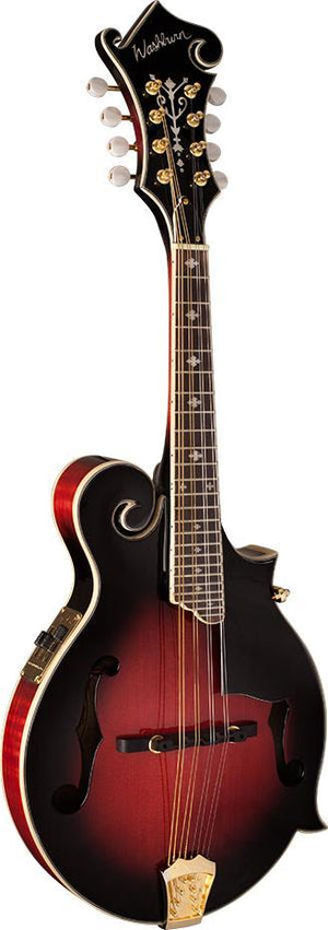 washburn Mandolin Washburn M3SWETWRK-D Acoustic Electric F- Style Mandolin