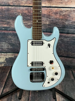 Watkins Electric Guitar Used Watkins 1967 Rapier 22 Electric Guitar- Light Ice Blue