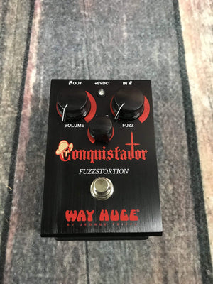 Way Huge pedal Used Way Huge WHE-406 Conquistador Fuzzstortion Pedal with Box