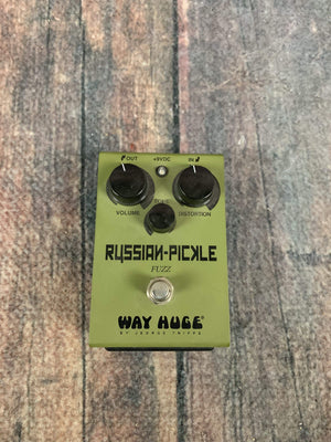 Way Huge pedal Used Way Huge WHE-408 Russian Pickle Fuzz Pedal with Box